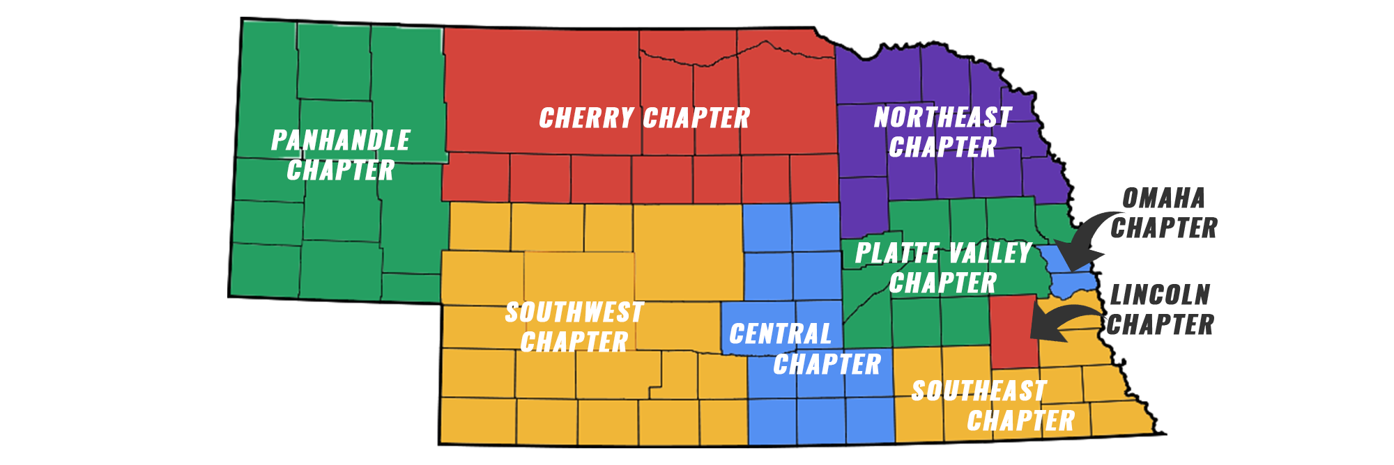 CEF Nebraska Counties